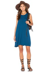 Rvca Sucker Punch 2 Dress Blue