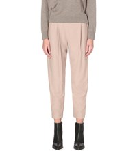 Allsaints Aleida Crepe Trousers Dusty Pink