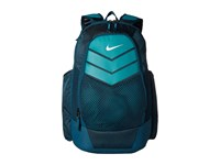 Nike Vapor Power Backpack Midnight Turquoise Rio Teal Metallic Silver Backpack Bags Blue