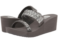 Yellow Box Indira Smoke Women's Wedge Shoes Gray