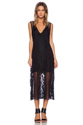 Shakuhachi Avalon Mash Dress Black
