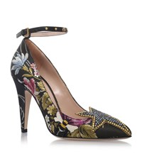 Gucci Star Floral Pumps 105 Female Multi