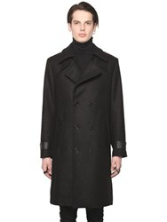 All Apologies Wool Blend Trench Style Coat