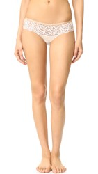 Paul And Joe X Cosabella Brigitte Low Rise Hot Pants Ivory Nude