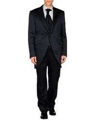 Carlo Pignatelli Cerimonia Suits And Jackets Suits Men Dark Blue