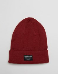 Jack And Jones Beanie Dna Red