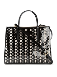 Desa 1972 Small 'Seven Cut Out' Tote Black