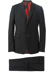 Valentino Classic Two Piece Suit Black