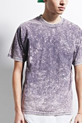 Forever 21 Eptm. Mineral Wash Boxy Tee Purple