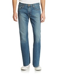 Lucky Brand 181 Relaxed Straight Dellwood Wash Jeans Blue