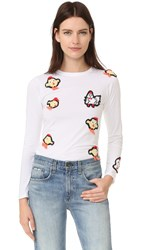 Michaela Buerger Chinese New Year Long Sleeve T Shirt White