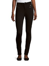 Romeo And Juliet Couture Slim Fit Ankle Length Pants Black