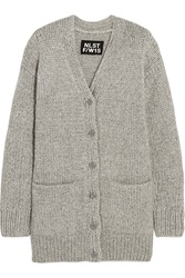 Nlst Fisherman Oversized Chunky Knit Cardigan