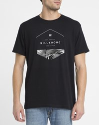 Billabong Black Hex Split Logo T Shirts