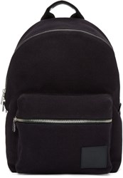 Paul Smith Black Canvas Backpack