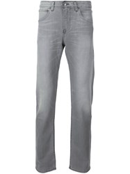 Levi's Made And Crafted Straight Leg Jeans Grey