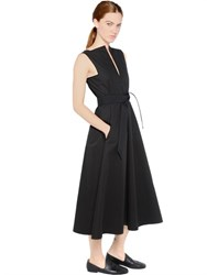 Christophe Lemaire Sleeveless Heavy Cotton Dress