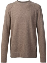 Helmut Lang Deconstructed Jumper Brown