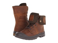 Palladium Pallabrouse Bgy Plus 2 Mahogany Dull Gold Men's Boots Brown