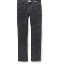 Frame Denim Vinoodh Slim Fit Washed Denim Jeans Black