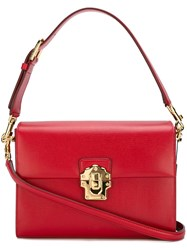 Dolce And Gabbana 'Lucia' Tote Red