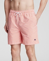 Brooks Brothers Gingham Swim Trunks