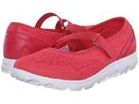 Propet Travelactiv Mary Jane Watermelon Red Women's Shoes