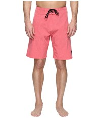 Body Glove Vapor Zupperino Boardshorts Red Heather Men's Shorts Pink
