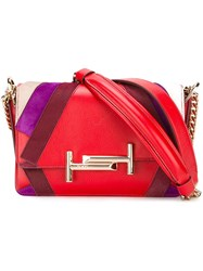 Tod's 'Double T' Shoulder Bag Red