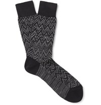 Missoni Mioni Patterned Cotton Blend Ock Black