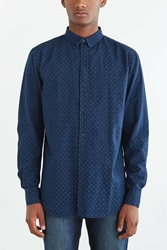 Globe Hyde Printed Button Down Shirt Navy