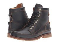 Timberland Earthkeepers Rugged Original Leather 6 Boot Dark Brown Full Grain Men's Lace Up Boots