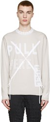 Kenzo Tan 'Pull Here' Pullover