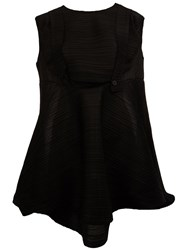 Issey Miyake Pleats Please By 'Bounce' Pleated Dress Black