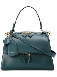 Victoria Beckham Small Pocket Tote Blue