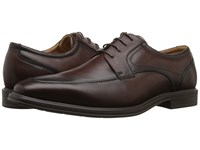 Florsheim Heights Moc Toe Oxford Brown Smooth Men's Lace Up Moc Toe Shoes