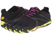 Vibram Fivefingers V Run Evo Black Yellow Purple Women's Shoes
