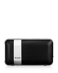 Tumi Wireless Portable Speaker With Powerbank Black W Gunmetal