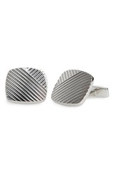 Boss Men's 'Bruno' Cuff Links Silver