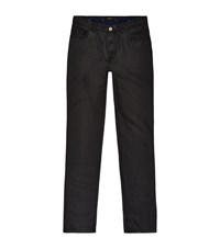 Brioni Textured Jeans Male Black
