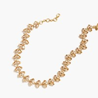 J.Crew Firefly Necklace Crystal
