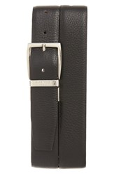 Canali Men's Calfskin Leather Reversible Belt