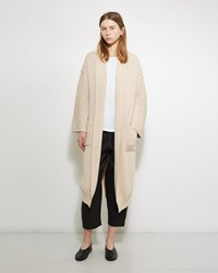 Lauren Manoogian Rib Cardigan Crudo
