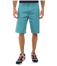 L R G Comoros Chino Shorts Light Teal Men's Shorts Blue