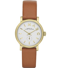 Marc By Marc Jacobs Mbm1317 Round Dial Female Watch White