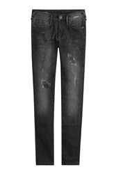 True Religion Distressed Skinny Jeans Gr. 30