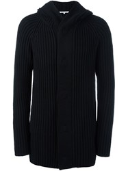 Helmut Lang Ribbed Cardigan Black
