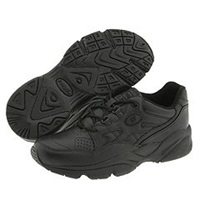 Propet Stability Walker Medicare Hcpcs Code A5500 Diabetic Shoe Black Leather Women's Walking Shoes
