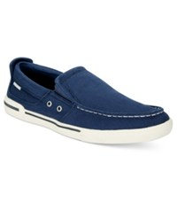Kenneth Cole Reaction Fasten Your Anchor Sneakers Men's Shoes Navy