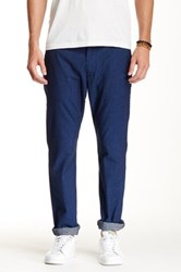 7 For All Mankind The Chino Cotton Pant Blue